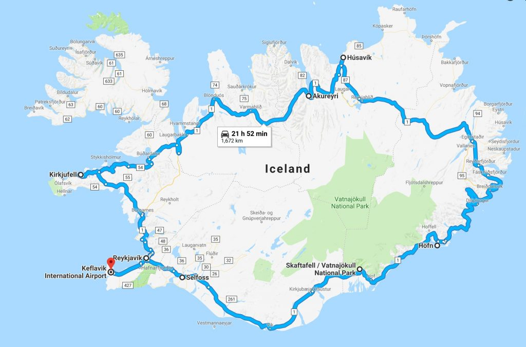 Iceland Ring Road Adventure - Wings and Wheels